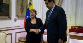 El mandatario Maduro advirtió que la alta comisionada se negó a escuchar las verdades políticas de Venezuela, y sucumbió a la presiones de Abrams.