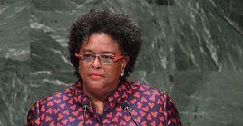 La primera ministra enfatizó que apuestan a la salida pacífica y rechazan cualquier injerencia militar contra el país venezolano.