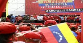 """""""Con informe o sin informe, Venezuela seguirá siendo libre, soberana e independiente"""", arengó Cabello."""