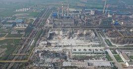 Las autoridades chinas iniciaron una investigación para dar con la causa de la explosión.