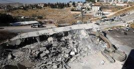 Una nueva operación de Israel demuele viviendas en la zona palestina de Jerusalén, violando el derecho de la población.