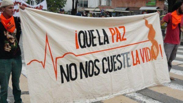 Líderes sociales siguen siendo blanco de la violencia en Colombia