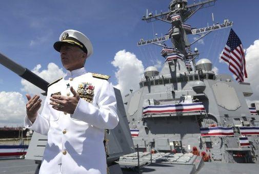 """Faller aseguró que el ejército estadounidense """"continuará volando y operando donde sea que se apliquen las normas internacionales y eso incluye alrededor de Venezuela, Suramérica y el mundo""""."""