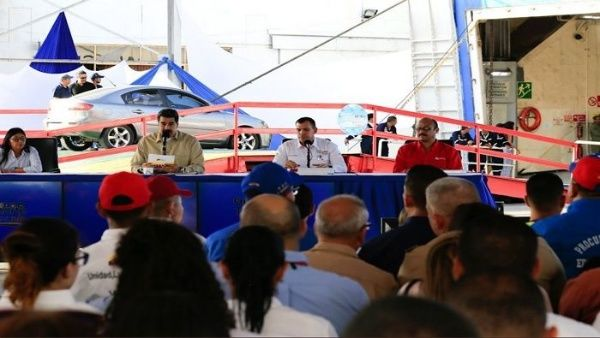 El mandatario venezolano ratificó que los mares del Caribe seguirán siendo soberanos.