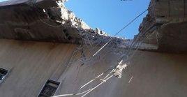 El ataque de este viernes dejó al menos tres civiles muertos.