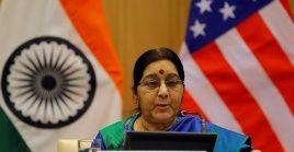 Swaraj dirigió la diplomacia de la India entre 2014 y 2019, pero por problemas de salud no repitió el mandato.