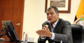 El expresidente alega que los casos por los que es investigado son parte de una persecución política.