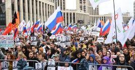 El ministerio de Interior cifró en 20.000 los manifestantes que participaron de la marcha.