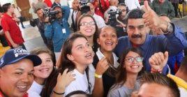 El presidente venezolano cambió este lunes a siete integrantes de su gabinete y creó un nuevo ministerio.
