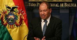 El ministro boliviano resaltó el avance tecnológico de esa nación en el combate de la delincuencia.