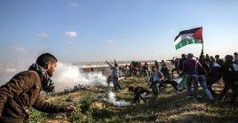 Desde el 30 de marzo de 2018, todos los viernes de manera ininterrumpida el pueblo palestino reivindica su derecho a la legítima resistencia.