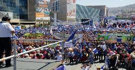 Según las últimas encuestas, el líder boliviano encabeza la intención de voto con un 39 por ciento.