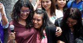 Evelyn Hernández quedó embarazada producto de una violación en 2016, a los 17 años.