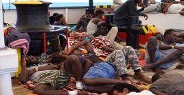 Open Arms insiste en el rescate del resto de migrantes que no cuentan con las condiciones sanitarias básicas.