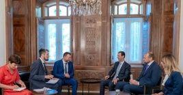 La declaración del mandatario surgió durante el encuentro con una delegación del partido Rusia Unificada.