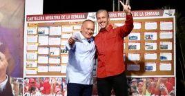Diosdado Cabello invitó al vicepresidente para el Área Económica, Tareck El Aissami, a su programa Con el Mazo Dando.