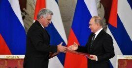 El Gobierno ruso ha expresado en varias ocasiones su apoyo a Cuba para hacer frente a las agresiones políticas y económicas de EE.UU.