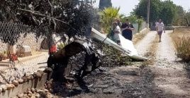 El mortal incidente se registró a las 13H35 hora local (11H35 GMT).