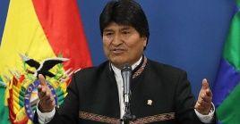 """""""Los miembros del G7 deben comprender que el incendio en la Amazonía es un llamado urgente para pasar de la preocupación a la acción"""", dijo Evo."""
