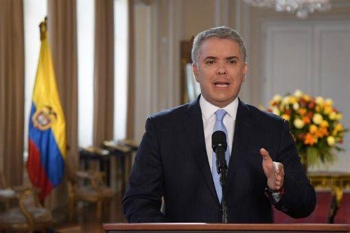"""Entre los muertos, el presidente Duque mencionó a un disidente identificado con el alias """"Gildardo Cucho""""."""