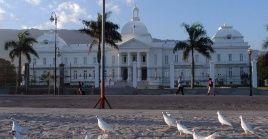 Foto de archivo del Palacio Nacional de Haití, sede del gobierno.