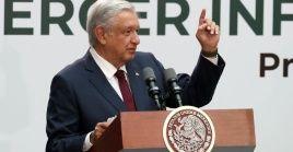 El mandatario mexicano cuenta con un 70 por ciento de aceptación.