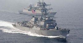 Las maniobras navales conjuntas tendrán lugar en el golfo de Tailandia y el mar de China Meridional.
