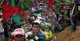 La ONIC denunció que durante el Gobierno de Duque han sido asesinados 103 indígenas.