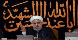 Rohani calificó de fracaso la campaña de EE.UU. contra Irán.
