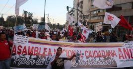 Ecuatorianos marcharon este jueves por las calles de Quito en rechazo a las políticas del presidente Moreno.