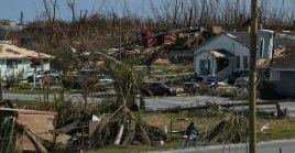 Daños causados por el huracán Dorian en la isla Ábaco, en las Bahamas.