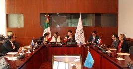 Representantes del cuarteto de la Celac discutieron temas regionales en México.