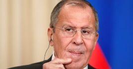 El canciller ruso Sergei Lavrov participó el lunes en el Consejo de Cooperación de Seguridad Ruso-Francés.