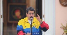 """""""El pueblo de Venezuela dice no más bloqueo, no más sanciones, no más agresión del imperio"""", dijo el mandatario."""