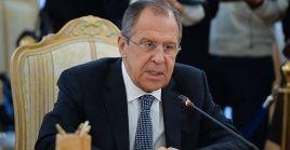 El canciller ruso afirmó que la guerra en Siria realmente ha terminado.