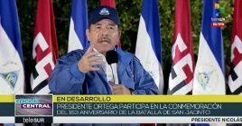 El presidente nicaragüense criticó a los países que dentro de la OEA invocaron el TIAR contra Venezuela.