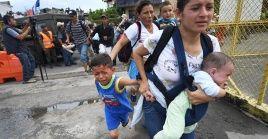 Los menores huyen del país centroamericano por los altos índices de violencia y pobreza extrema.