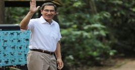Vizcarra aseguró que el anticipo de los comicios es una buena solución política para Perú.