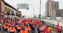 La Federación de Trabajadores Mineros del Perú anunció este sábado la suspensión de la huelga.