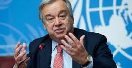 UN Secretary General Antonio Guterres states the importance of preserving the Ozone Layer