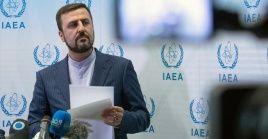 Qaribabad es representante permanente de Irán ante organizaciones internacionales radicadas en Viena, Austria.