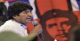 """""""Quiero una nueva juventud unida, organizada, revolucionaria, con identidad, con dignidad, superando nuestros problemas"""", indicó Morales."""
