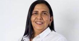 La candidata aspira a la alcaldía del municipio de Andalucía, al oeste de Colombia.