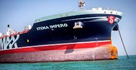 El Stena Imperio fue detenido en las aguas del estrecho de Ormuz en julio pasado.