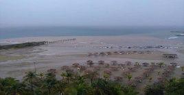 La tormenta tropical ha causado fuertes precipitaciones en Sucre, Nueva Esparta, Anzoátegui, Delta Amacuro, Monagas, Bolívar y en la región capital.