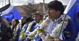 El presidente boliviano insiste que el proyecto político del MAS, representa la garantía a los derechos humanos de la población.