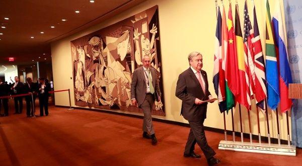 UN's Guterres Announces Syria Constitutional Committee