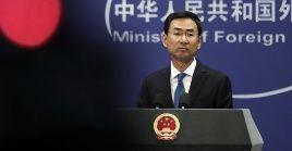 China continuará implementando su política pese a las declaraciones de EE.UU. y esperan que los hechos ganen a las mentiras.
