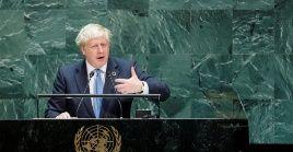 El primer ministro británico se refirió a temas tecnológicos y omitió puntos como el brexit.