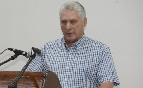 Díaz-Canel consideró una persecución contra Cuba las sanciones impuestas por EE.UU.